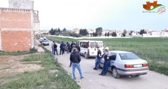 نايضة فالقصر …مطاردات واعتقالات لخارقي الحجر الصحي