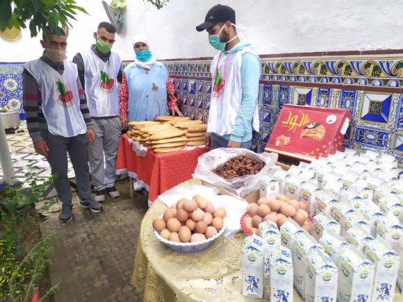 جمعية يد مساعدة :  تنظم مبادرة إفطار رمضان