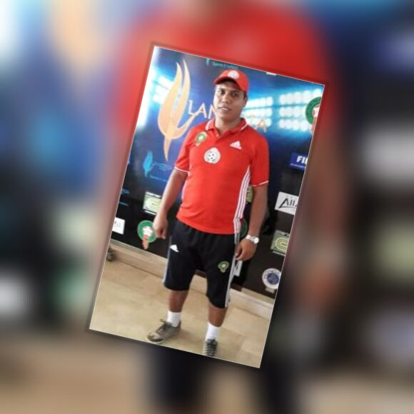 المدرب مصطفى الشرقي يحصل على شهادة التدريب B من طرف الكاف