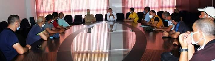 الجماعة الترابية ، والسلطة المحلية في اجتماع توعوي من أجل الحفاظ على المكتسبات/ فيديو