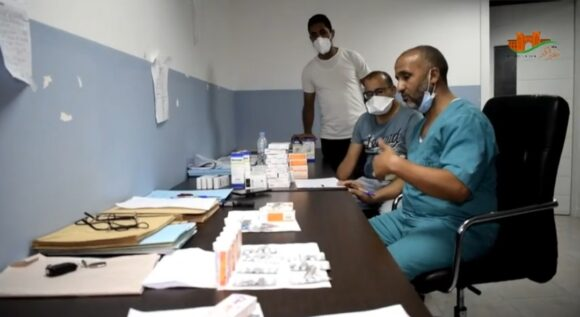 حوار : بوابة القصر الكبير تزور وحدة استشفاء كوفيد 19 بالمستشفى المحلي / فيديو