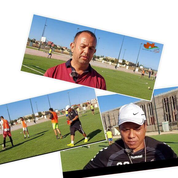 كيف استعد النادي القصري لمواجهة نادي ازرو السبت القادم ؟ فيديو