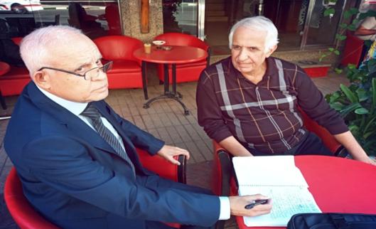 في دائرة الحوار : مع الشاعر و المترجم نور الدين الدامون