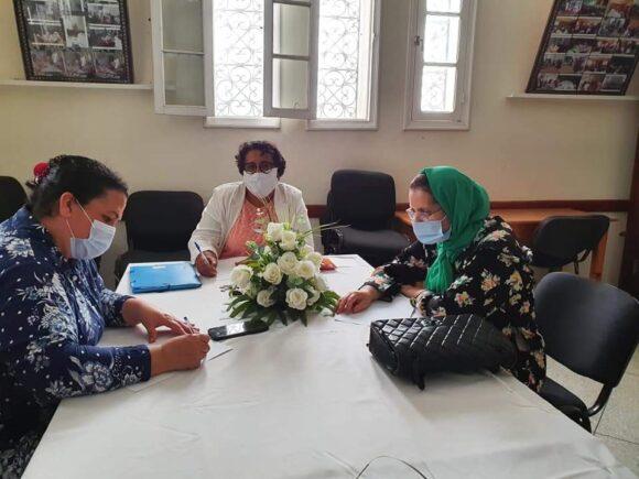 جمعية الانوار النسوية : اجتماع المكتب الاداري لاتخاذ ما يناسب من القرارات