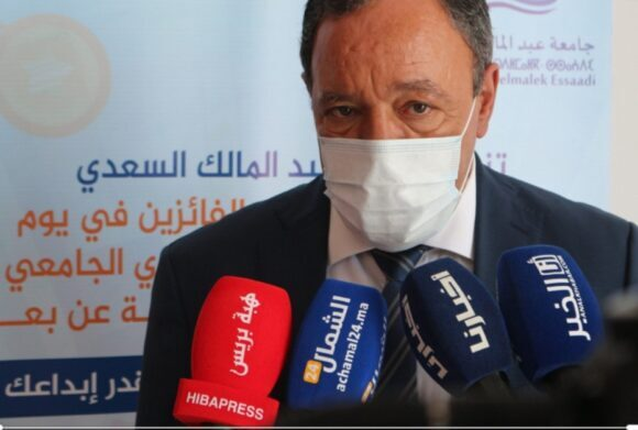 بسبب كورونا : رئيس جامعة عبد المالك السعدي يفارق الحياة صباح يومه الجمعة